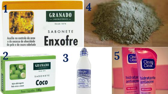 produtos baratinhos para pele oleosa