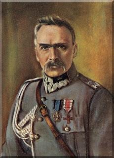 Józef Piłsudski - mal. Aleksander Dobrowolski