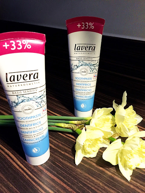 Favourite Cosmetic of March - Organic Lavera Toothpaste