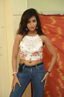 Deekshita Parvathi in a short crop top and Denim Jeans Spicy Pics Beautiful Actress Deekshita Parvathi January 2017 CelebxNext (17).JPG