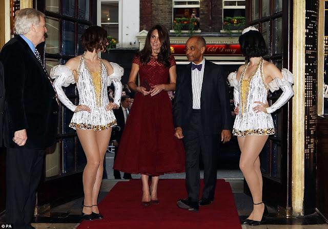 Кейт Миддлтон покорила всех шикарным платьем