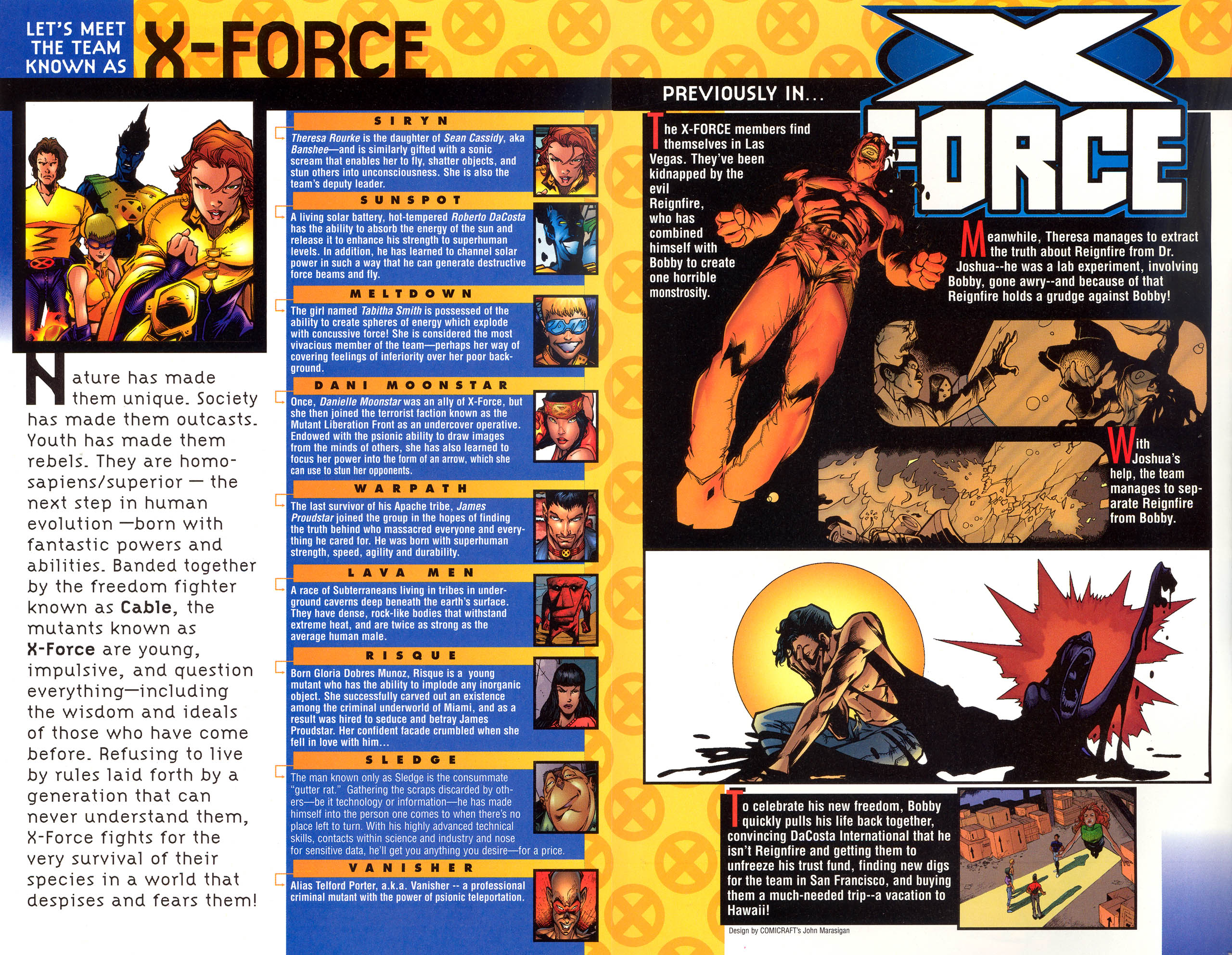 Read online X-Force (1991) comic -  Issue #81 - 3