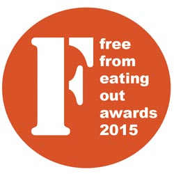 2015 FreeFrom Eating Out Awards are now open for entry