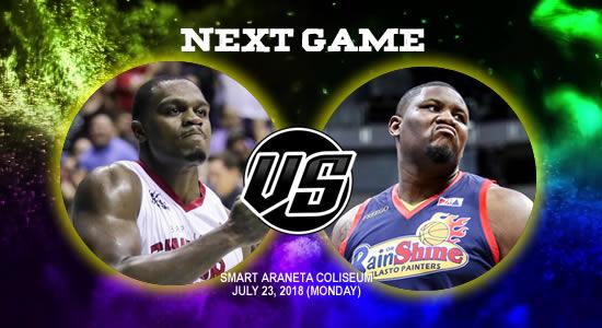 List of PBA Game(s): July 23 at Smart Araneta Coliseum 2018 PBA Commissioner's Cup