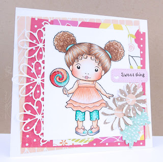 Heather's Hobbie Haven - Marci with Lollipop Card Kit