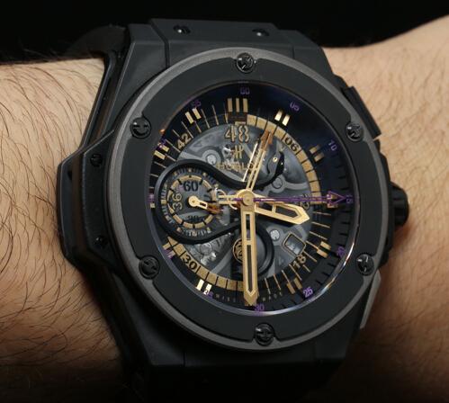 Relojes Suizos Opiniones En LInea  Reloj Hublot Big Bang King Power ... f8152fac25f6