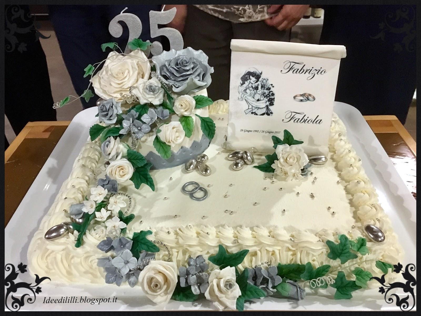 Cucina dintorni torta 25 anni matrimonio for 25 anni matrimonio