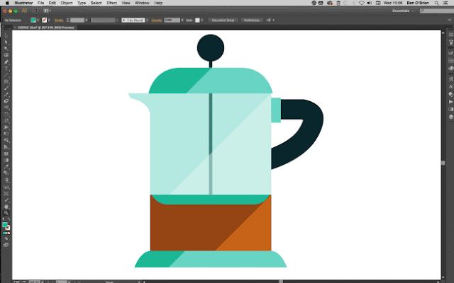 Crear icono profesional en illustrator
