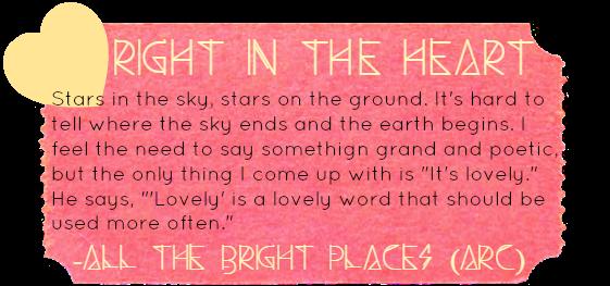 Da Me Um Livro Resenha Fala Me De Um Dia Perfeito All The Bright Places