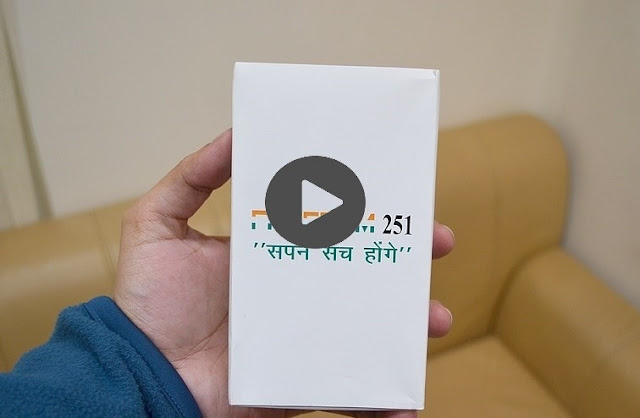Freedom 251 First Full Hands-on, Photos & Full Specifications
