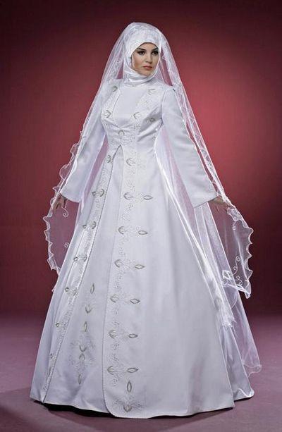 Model Gaun Pernikahan Muslimah Terindah di Dunia