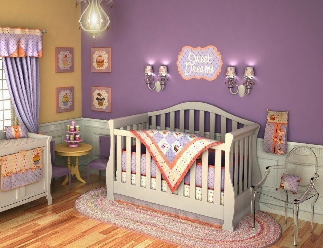 baby girl nursery paint color ideas