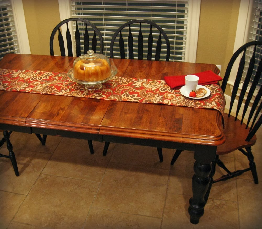 Refinish Kitchen Table: My New Kitchen Farm Table {Wood Refinishing Project