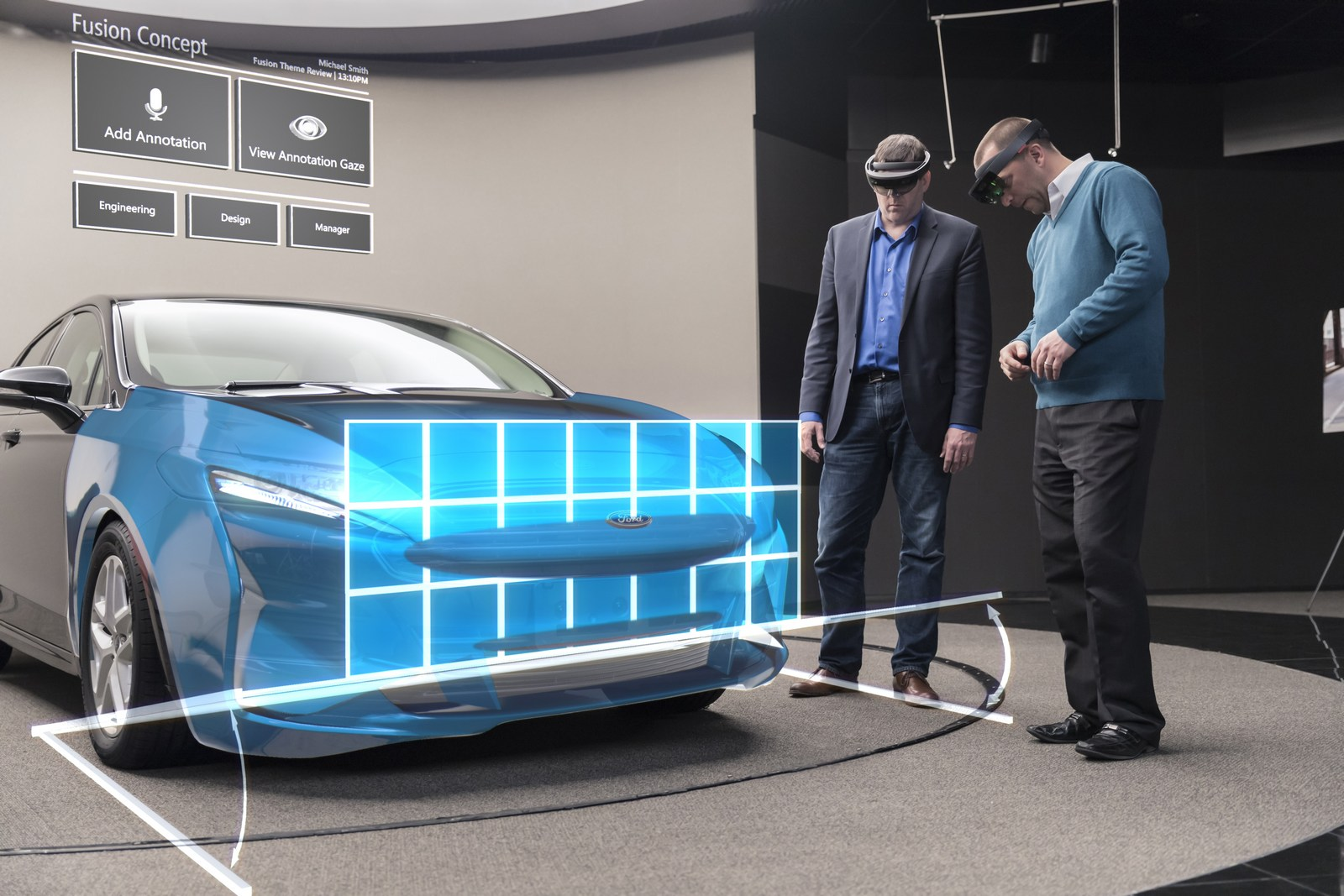 Ford To Speed Up Vehicle Development With Microsoft HoloLens ...