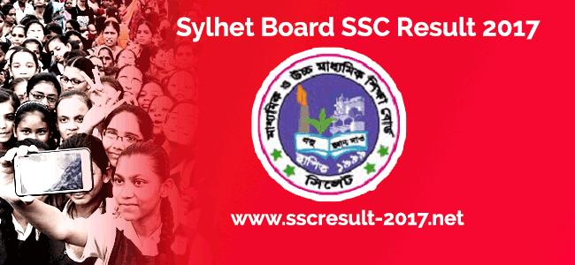 Sylhet Board SSC Result 2017