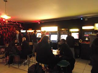 Retro Arcade Bar Europa