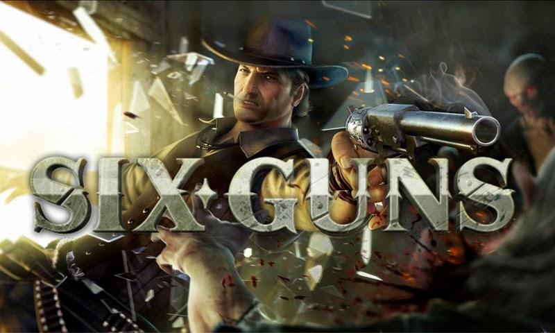 تحميل لعبة six guns على الكمبيوتر