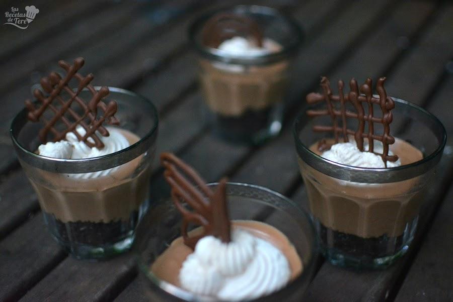 mousse de chocolate moca y galletas oreo tererecetas 05