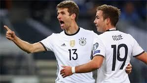 Podolski Cetak Gol di Laga Terakhirnya, Jerman Kalahkan Inggris 1-0