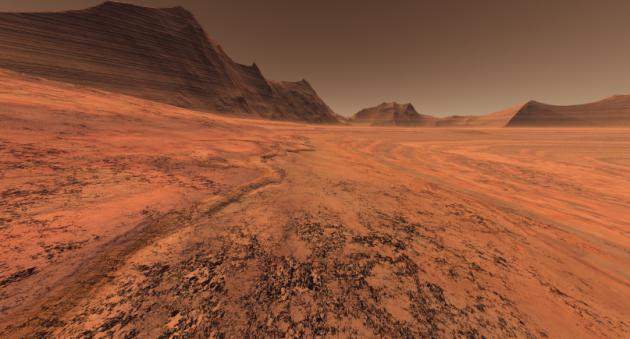 En este valle fue localizada la sonda perdida
