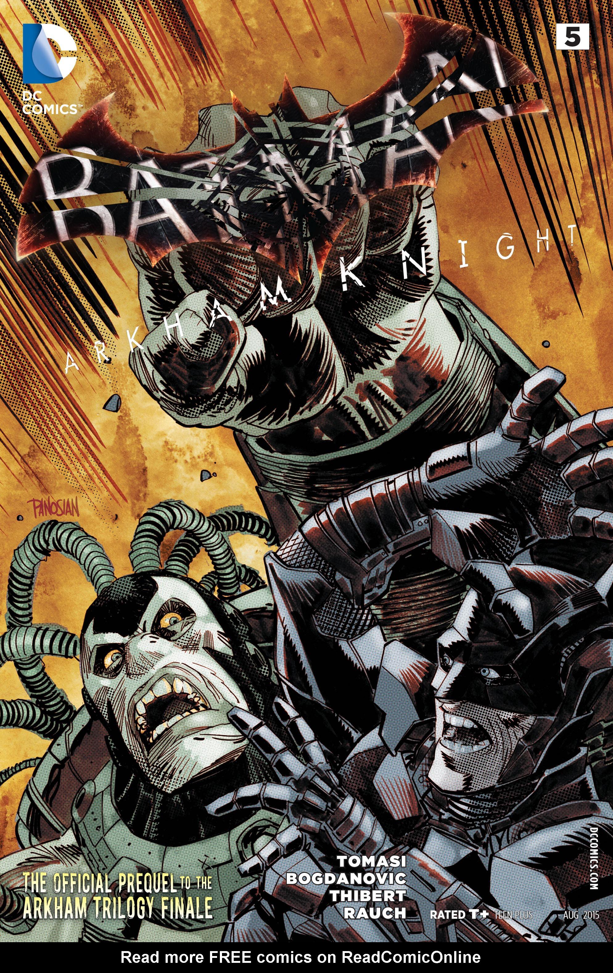 Batman: Arkham Knight [II] 5 Page 1