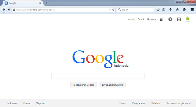 Cara Merubah Themes Atau Tema Pada Browser Mozilla Firefox