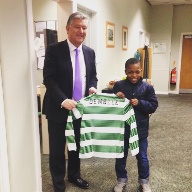 Karamoko Dembele debuta a los 13 años en el Celtic