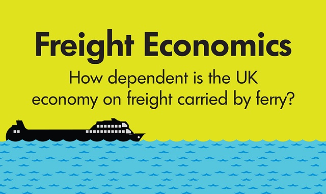 Image: How Dependent is The UK Economy on Freight Carried by Ferry? #infographic