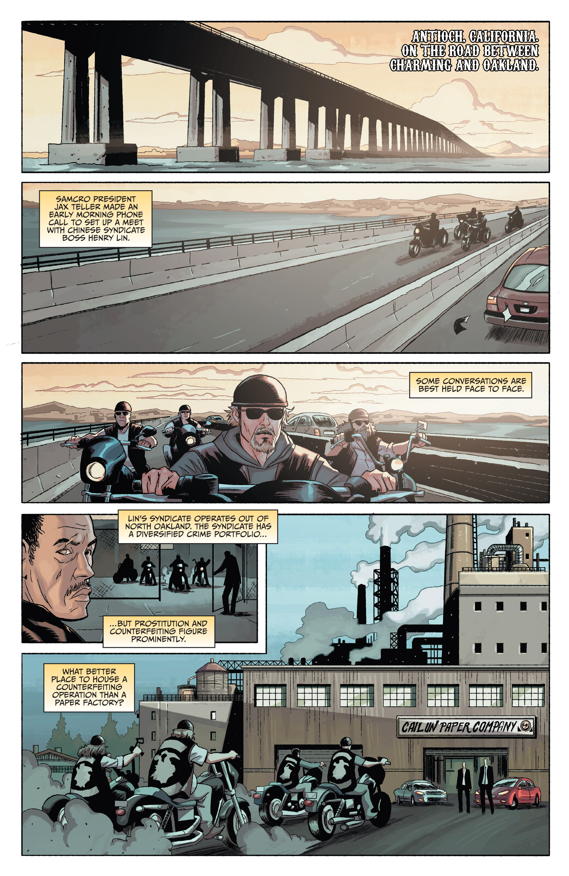 Read online Sons of Anarchy comic -  Issue #4 - 5