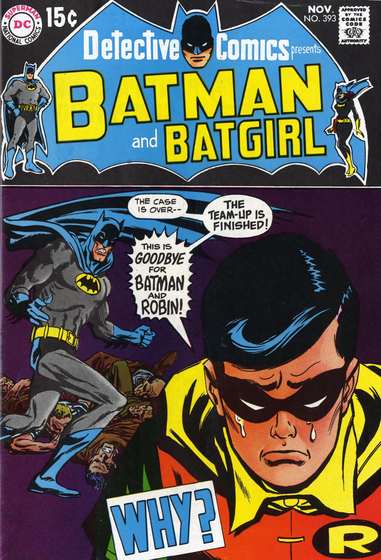 Detective Comics (1937) 393 Page 0