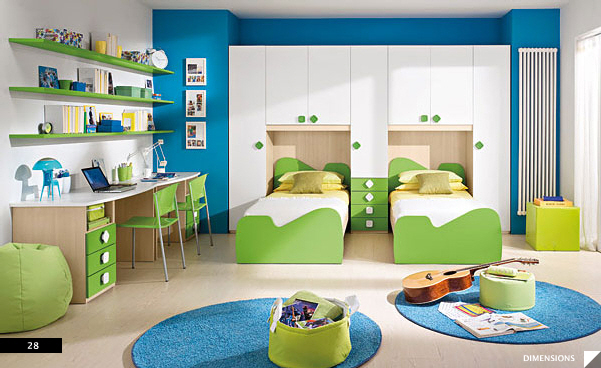 Contoh Design Interior Apartment 2 Kamar