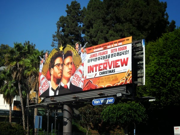 The Interview billboard