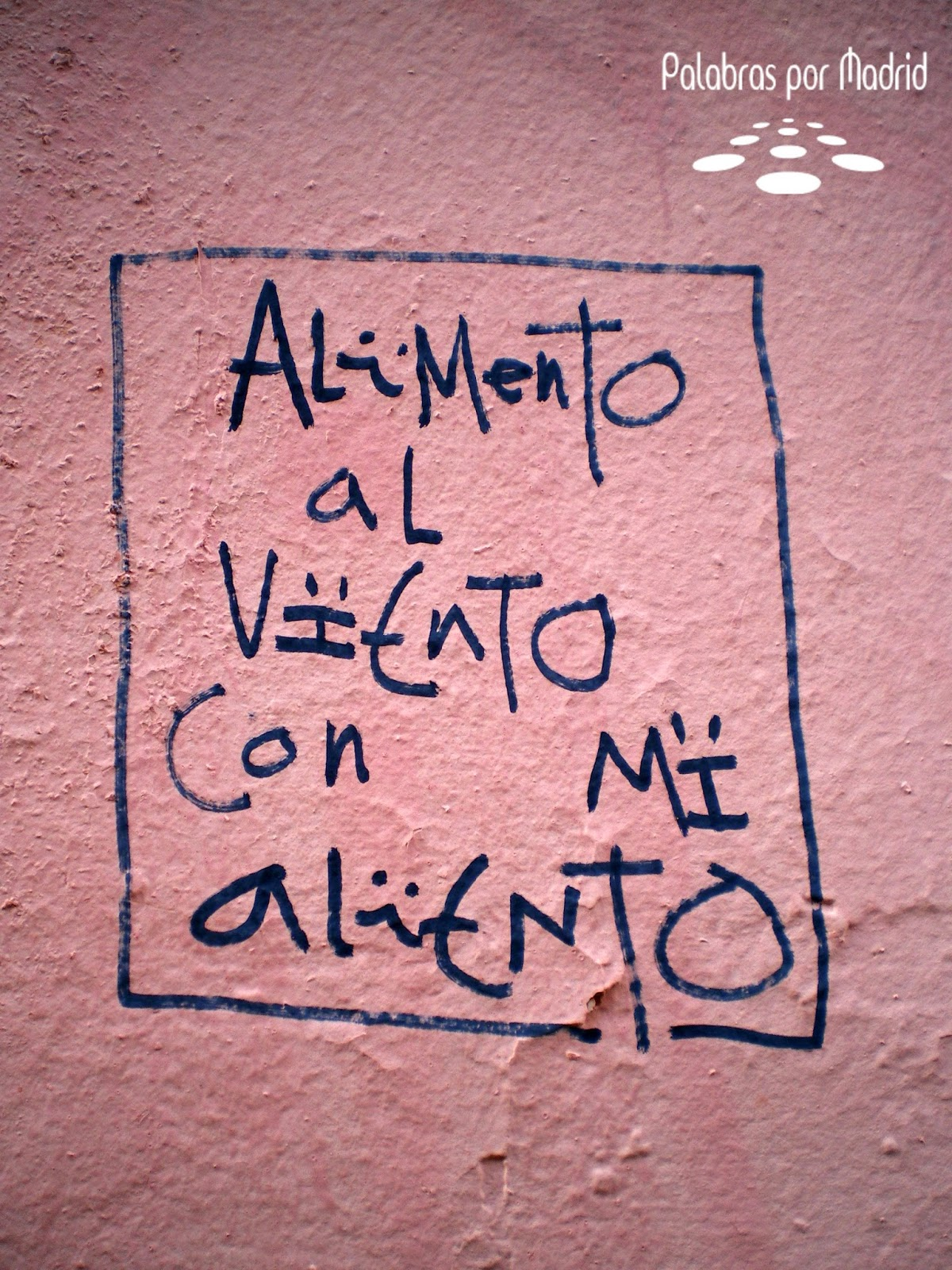 poesia callejera de madrid