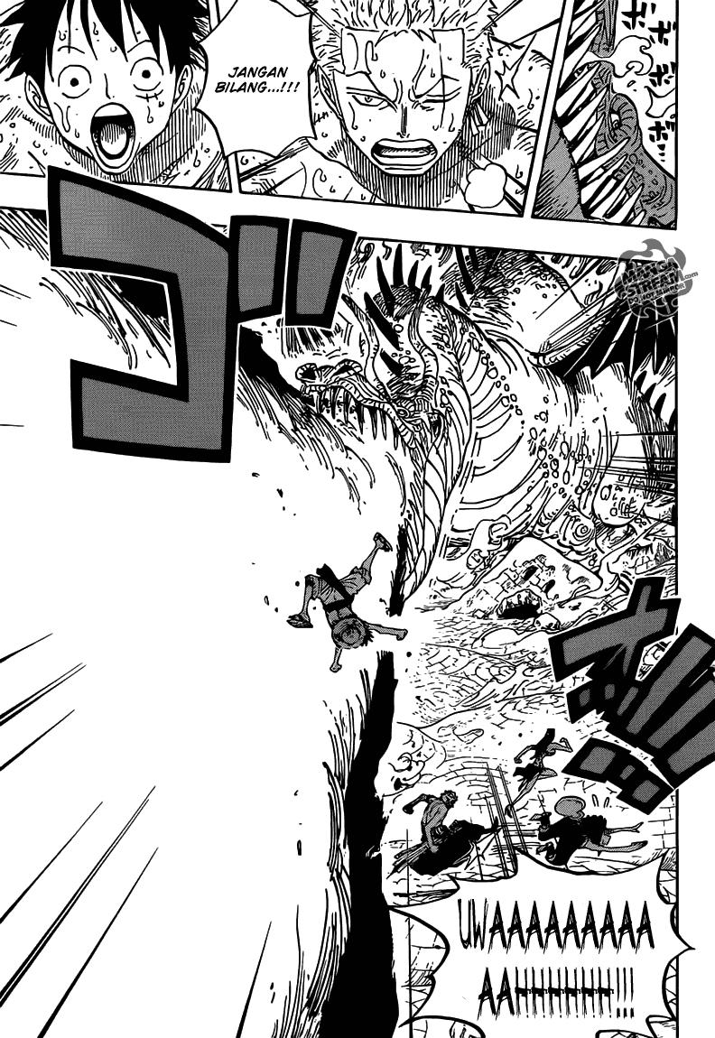 Page04 One Piece 656   Petualangan di Pulau Api