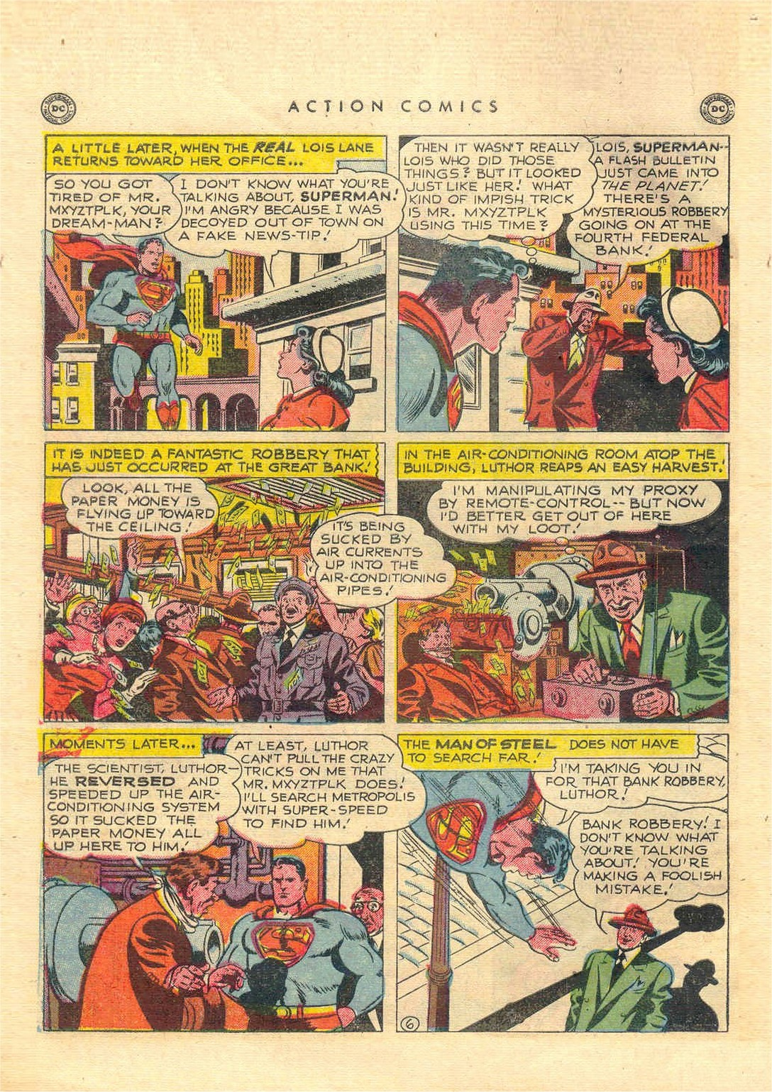 Action Comics (1938) 151 Page 6