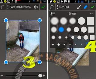 edit foto Gandakan Objek dengan Picsay Pro Android