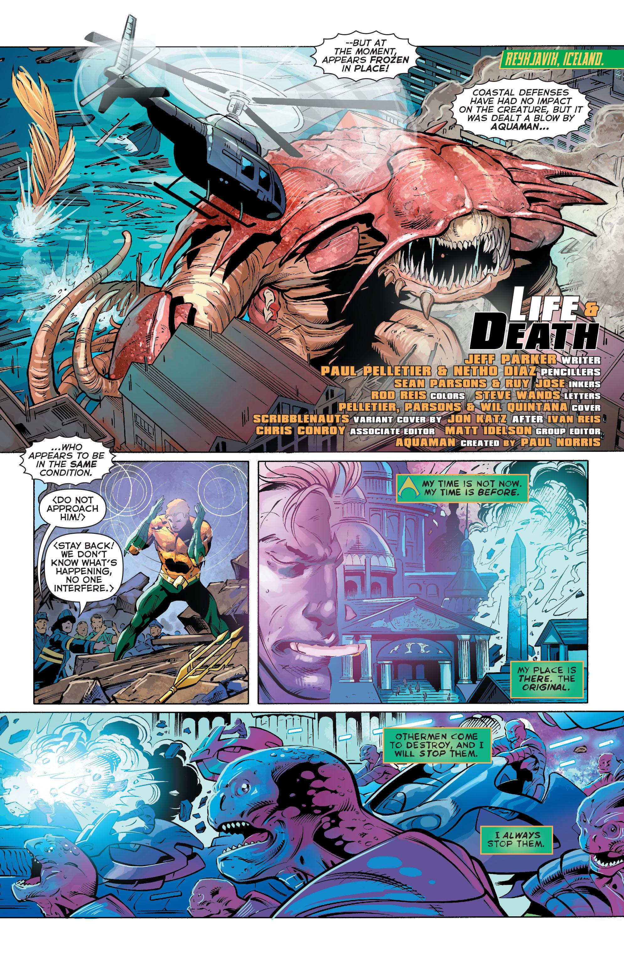 Read online Aquaman (2011) comic -  Issue #27 - 3