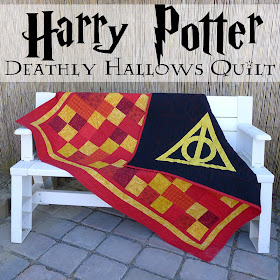 Harry Potter Deathly Hallows Quilt