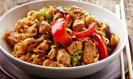 Resep Kreasi Mie Instan Goreng Daging Ayam