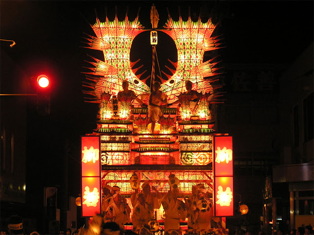 Noshiro Nebunagashi (parade, dance and music), Noshiro City, Akita