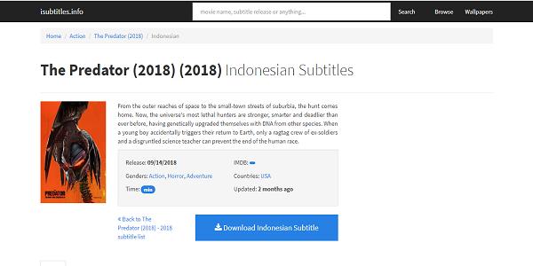 Situs Isubtitles.info