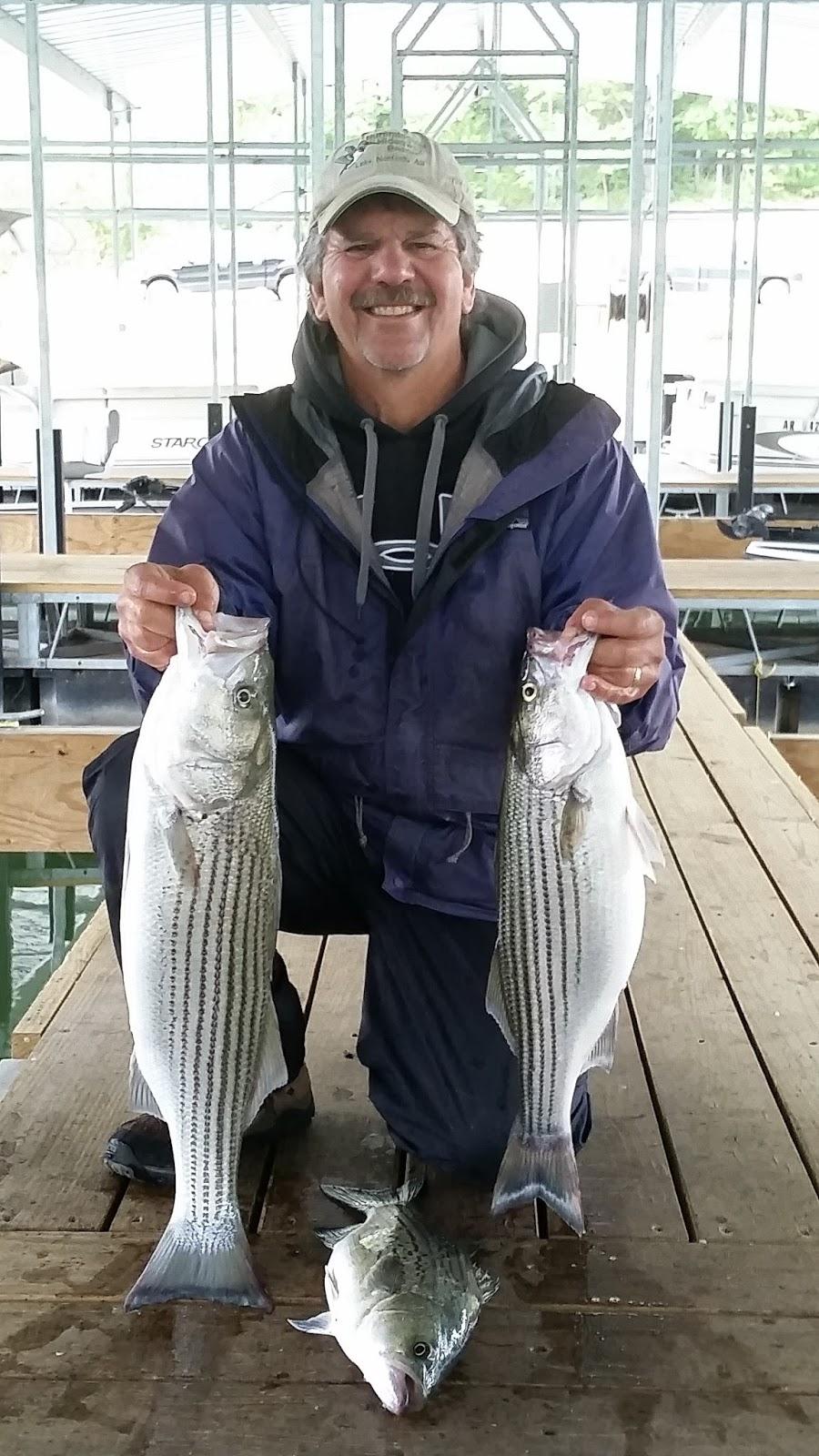 Norfork Lake Fishing Report by Lou of Hummingbird HIdeaway Resort