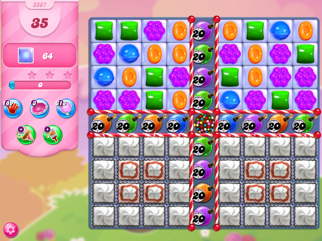 Candy Crush Saga level 3367