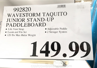 Deal for the Wavestorm Taquito Junior Stand-up Paddleboard at Costco