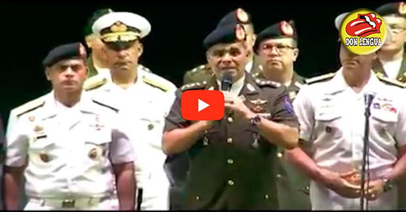 Padrino López ordena a militares a bailar gaitas mientras los matan en la frontera