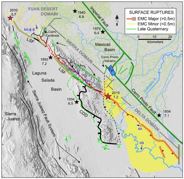 Earthquake geology sightseeing in Baja California, Mexico: 3