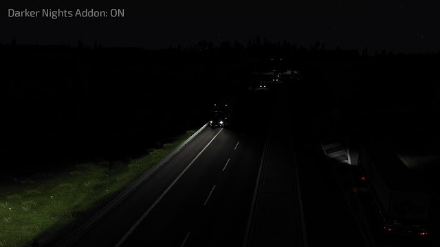ets2 mods, euro truck simulator 2 mods, ets2 graphic mods, frkn64, ets 2 realistic graphics mod, ets2 realistic mods, recommendedmodsets2, ets 2 darker nights, ets 2 darker nights add-on for realistics graphics mod screenshots1