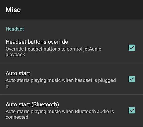 Android media players quick and easy solutions if you use the free mp3 player or a paid version of jetaudio hd music player for android and want the music to play automatically once the headset is ccuart Images