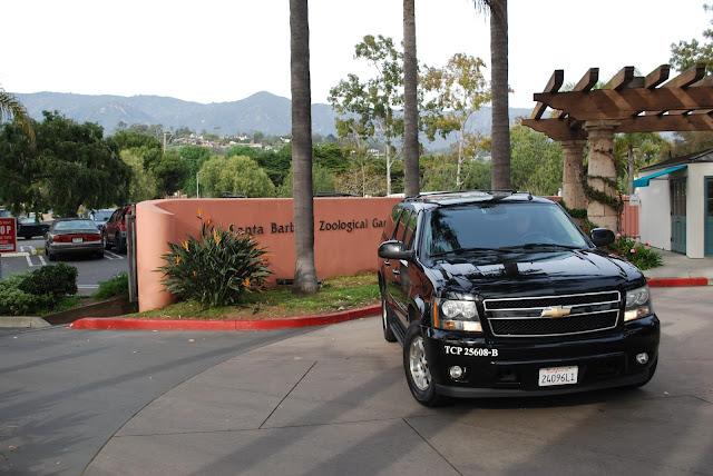 A limo service visiting Santa Barbara
