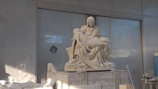 pedreira carrara michelangelo4 visitaguiada - A (primeira) Pietà do Michelangelo